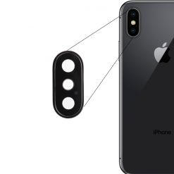 iPhone X Back Camera Lens Glass hallroad.pk